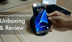 Samsung Fast Charging Stand - Unboxing and Quick Review