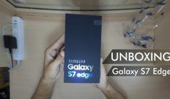 (Unboxing) Samsung Galaxy S7 Edge Silver Titanium