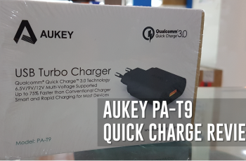 Aukey PA-T9 Adapter Quick Charge for Samsung S7 Edge Review