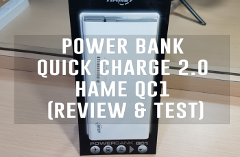 Power Bank Quick Charge 2 0 - Hame QC1 (Review & Test)