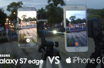 Samsung Galaxy S7 Edge Vs iPhone 6s Camera Comparison (Panorama, Focus Speed, 4K Video, Timelapse)