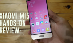 Xiaomi Mi5 Gold Hands-On Review
