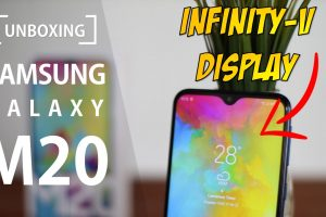 Unboxing Samsung Galaxy M20, First Impression and Photo Sample