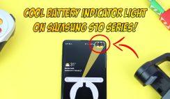 Samsung Galaxy S10eS10S10 Plus Battery Indicator Light - Activate a COOL Battery Indicator Light!