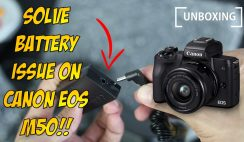 Unboxing ACK E12 AC Power Adapter Charger Kit - for Canon EOS M50 and Other Canon EOS M Series