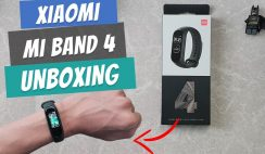 Xiaomi Mi Band 4 Unboxing and How to Connect to Smartphone and Change Watchfaces