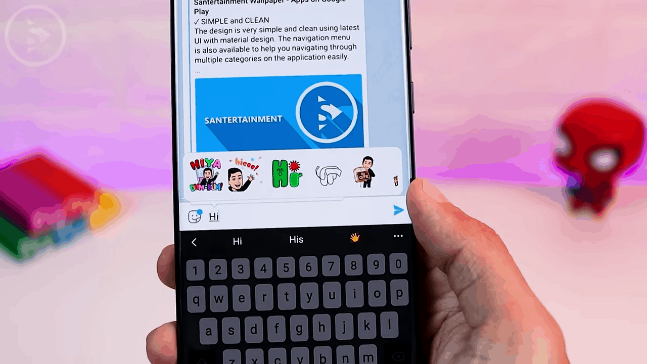 Sticker & Emoji Suggestion