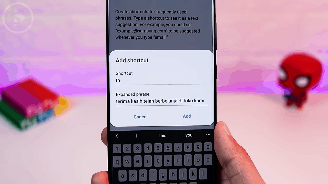 Text Shortcut
