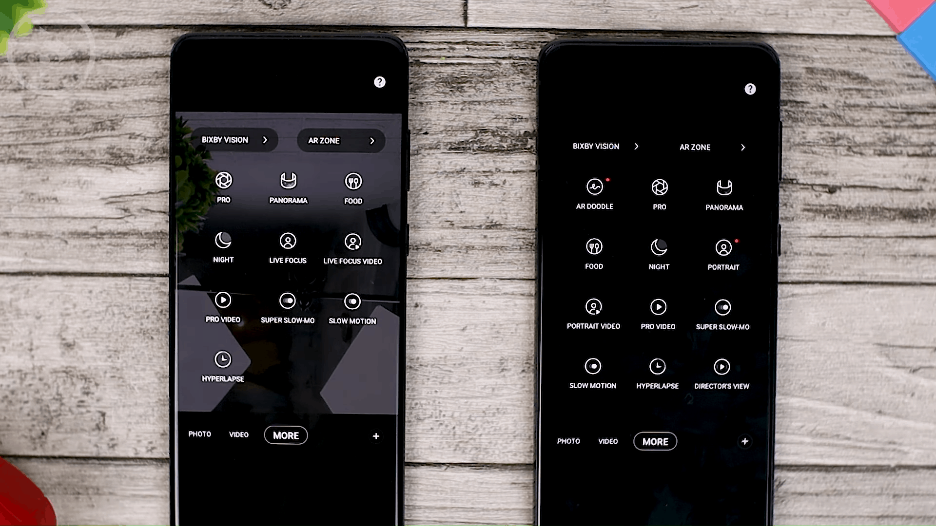 Live Focus - Check out the latest One UI 3.1 features on the Samsung S21 + that are not yet available on One UI 3.0 Samsung S20 + (PART 2)