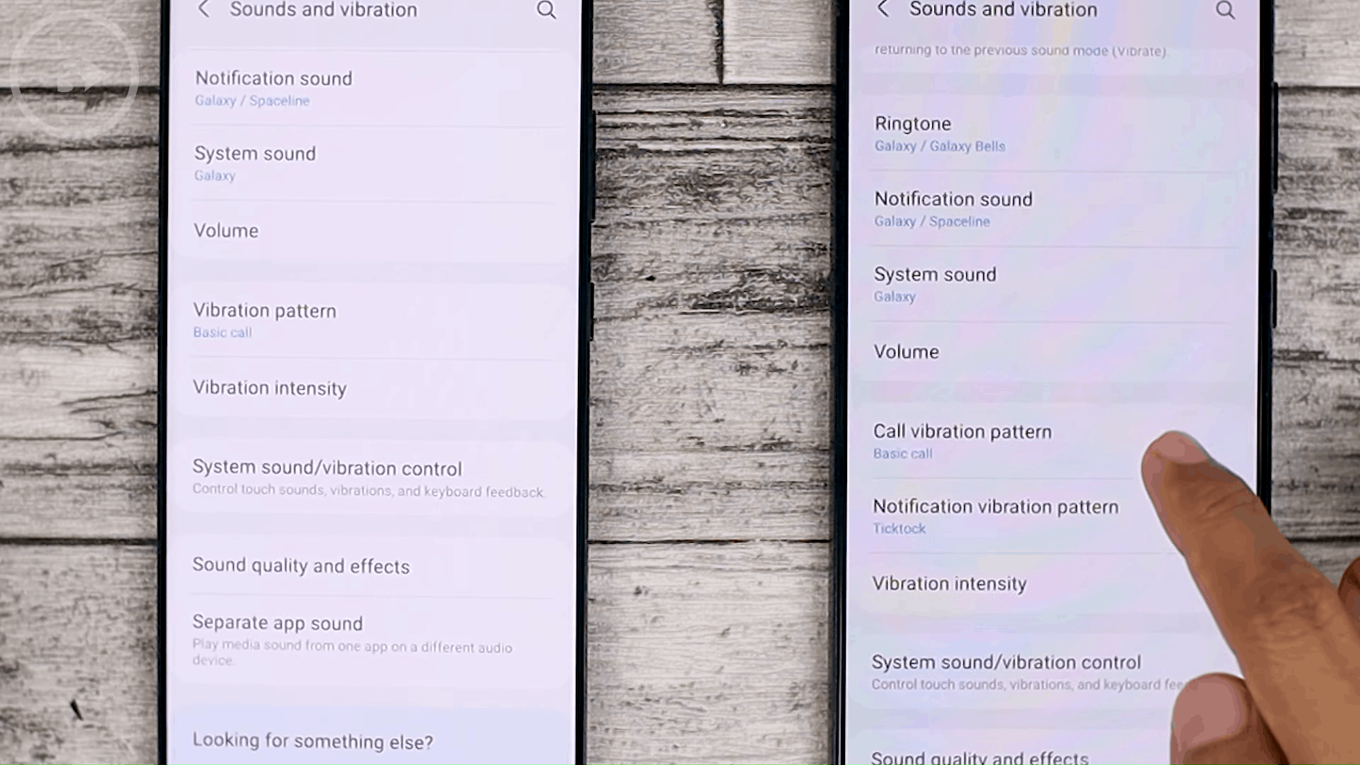 Notification Vibration Pattern - Check out the latest One UI 3.1 features on the Samsung S21 + that are not yet available on One UI 3.0 Samsung S20 + (PART 2)