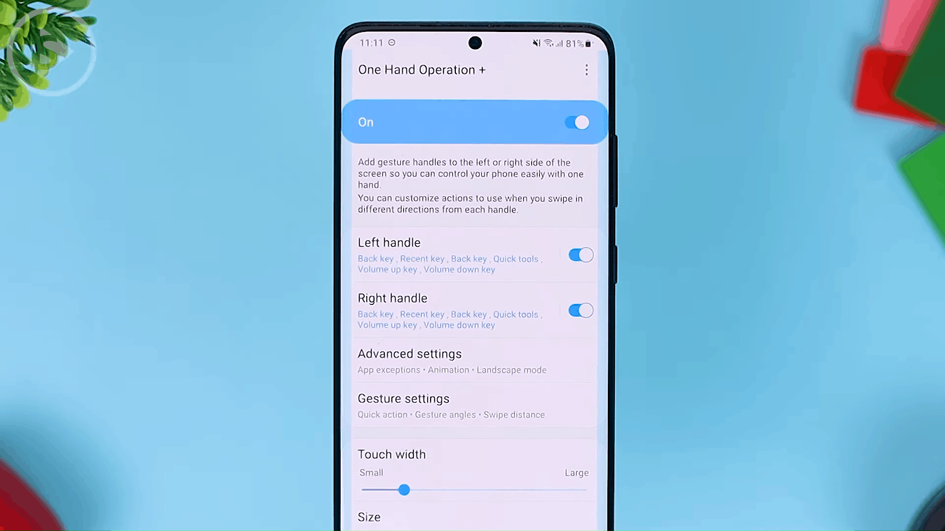 Overview - The Latest One Hand Operation+ Feature in Update 2021 - A MANDATORY Application For Full Screen Gesture Users