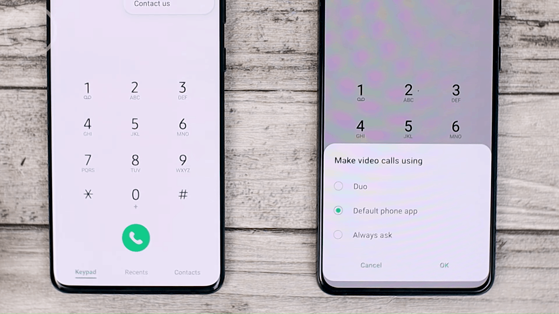Phone Dial - Check out the latest One UI 3.1 features on the Samsung S21 + that are not yet available on One UI 3.0 Samsung S20 + (PART 2)