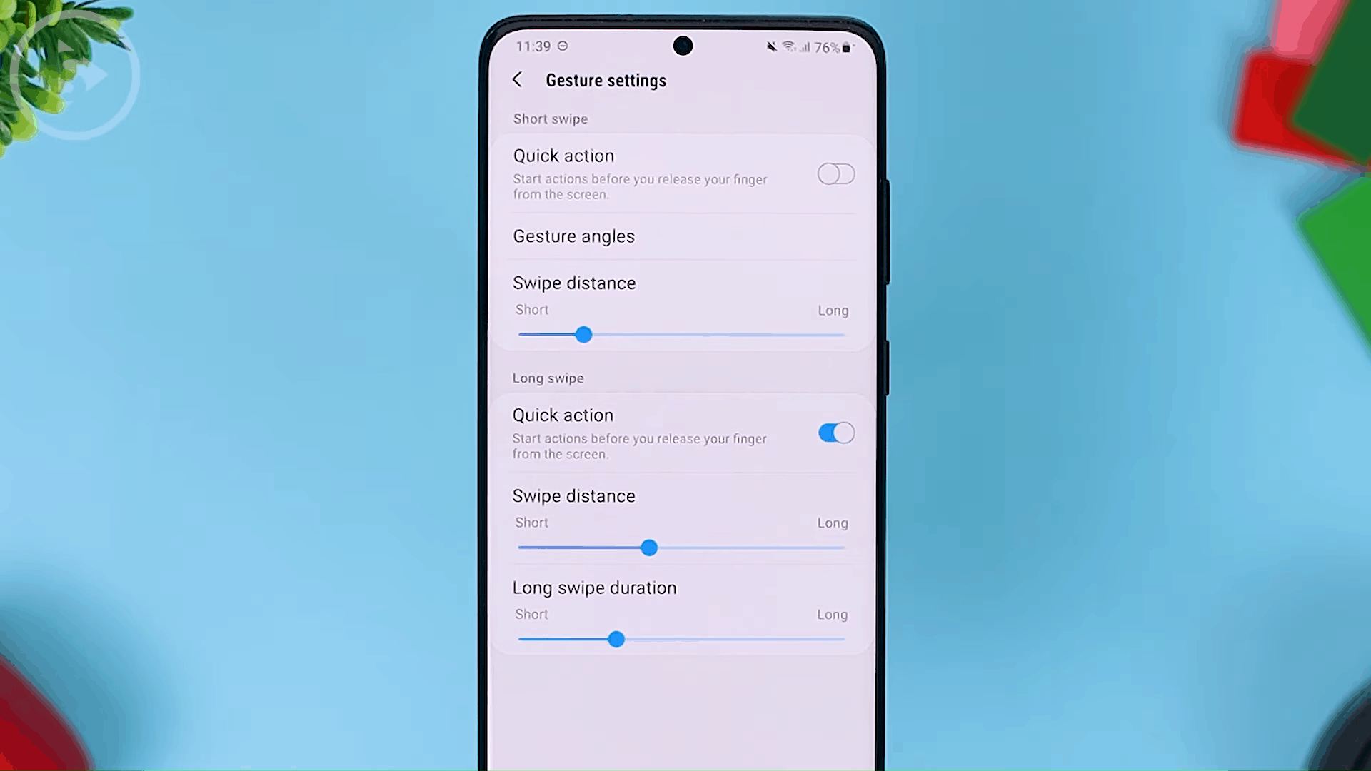 Swipe Distance - The Latest One Hand Operation+ Feature in Update 2021 - A MANDATORY Application For Full Screen Gesture Users