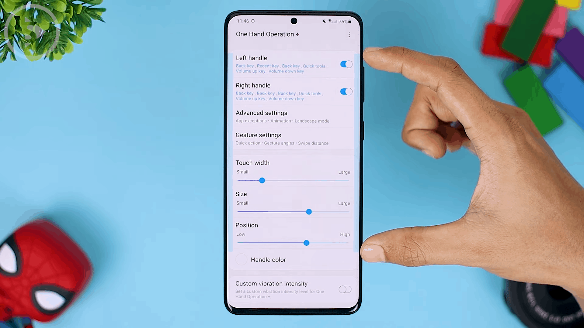 Touch Width - The Latest One Hand Operation+ Feature in Update 2021 - A MANDATORY Application For Full Screen Gesture Users
