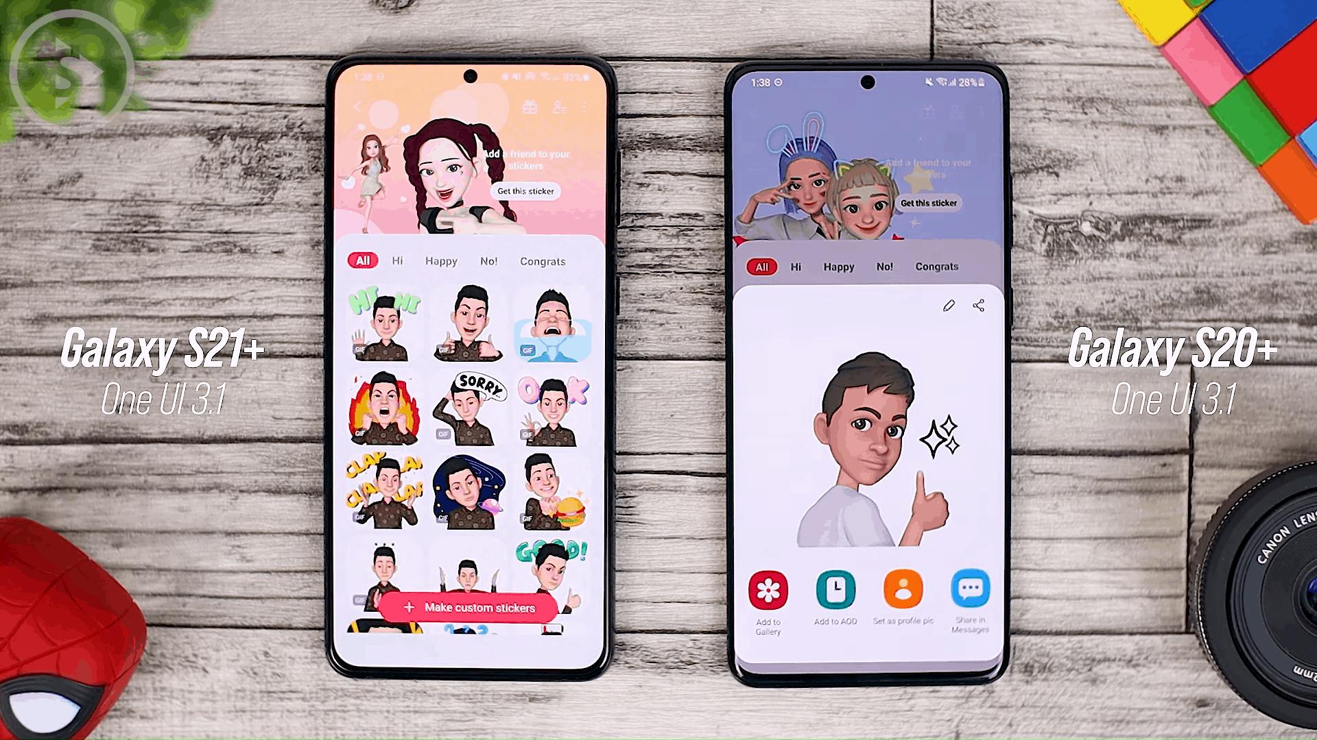 AR Emoji Sticker Update - One UI 3.1 Features on Samsung S20, S20+, S20 Ultra