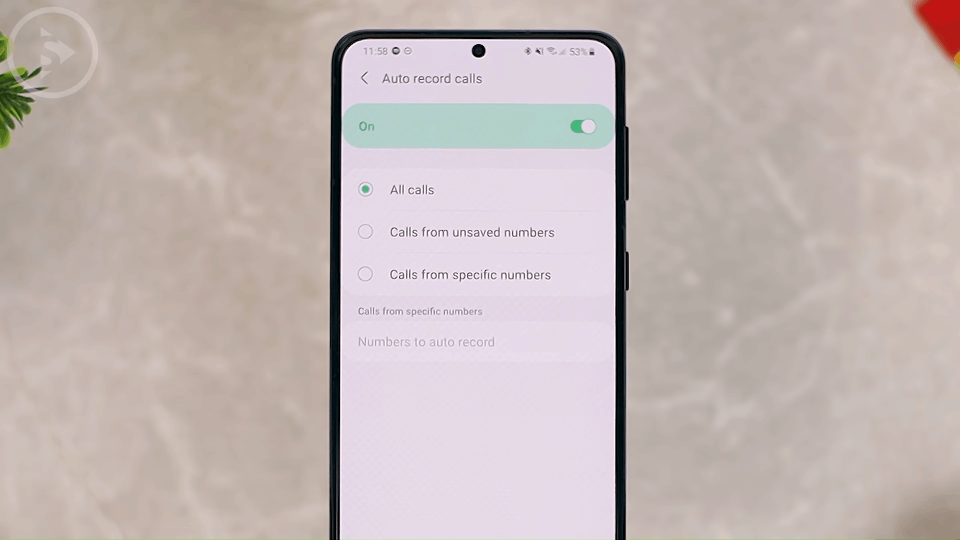 Auto Record Calls - 8 New and Cool Samsung Features in One UI 3.0 and One UI 3.1