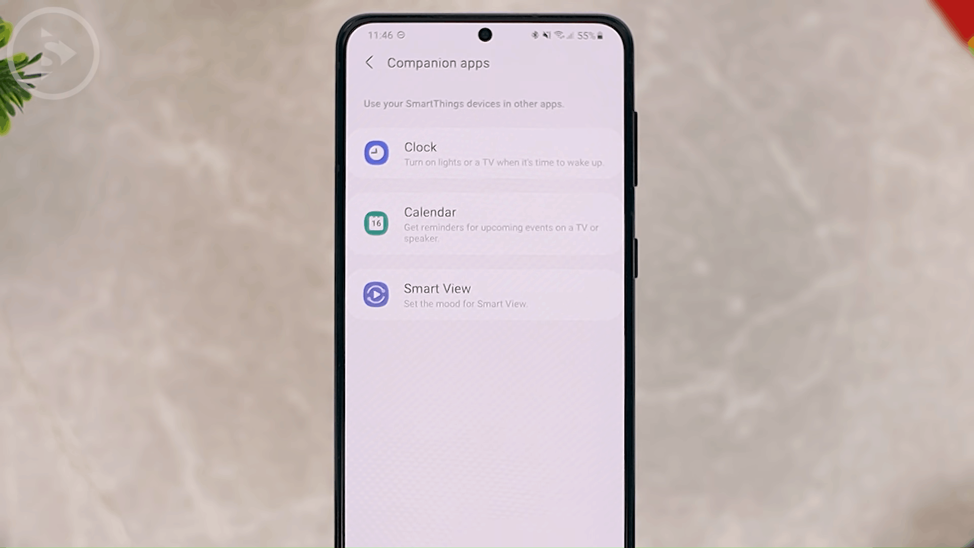 Companion Apps on SmartThings - 8 New and Cool Samsung Features in One UI 3.0 and One UI 3.1