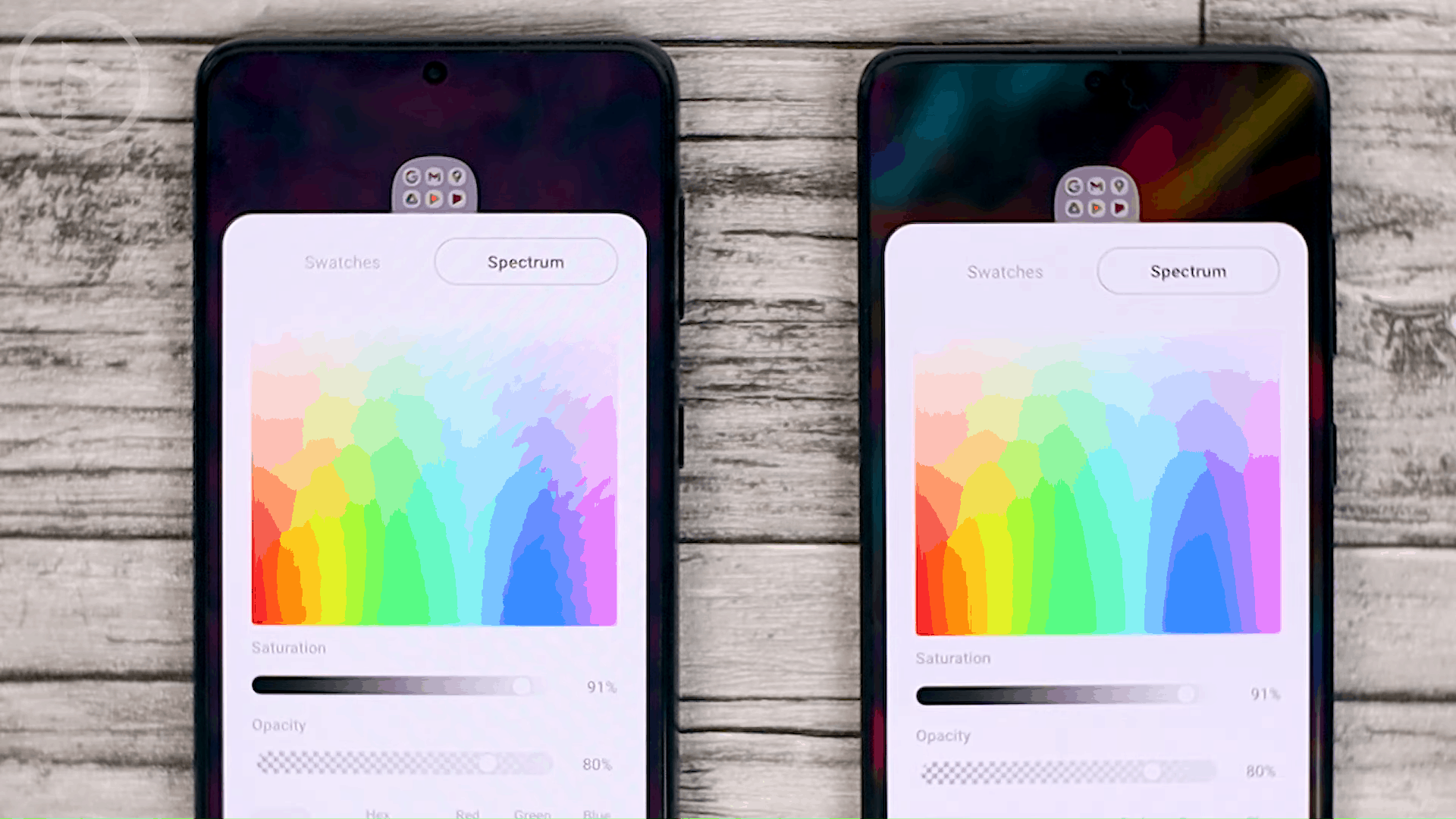 New Folder Color Spectrum - One UI 3.1 Features on Samsung S20, S20+, S20 Ultra