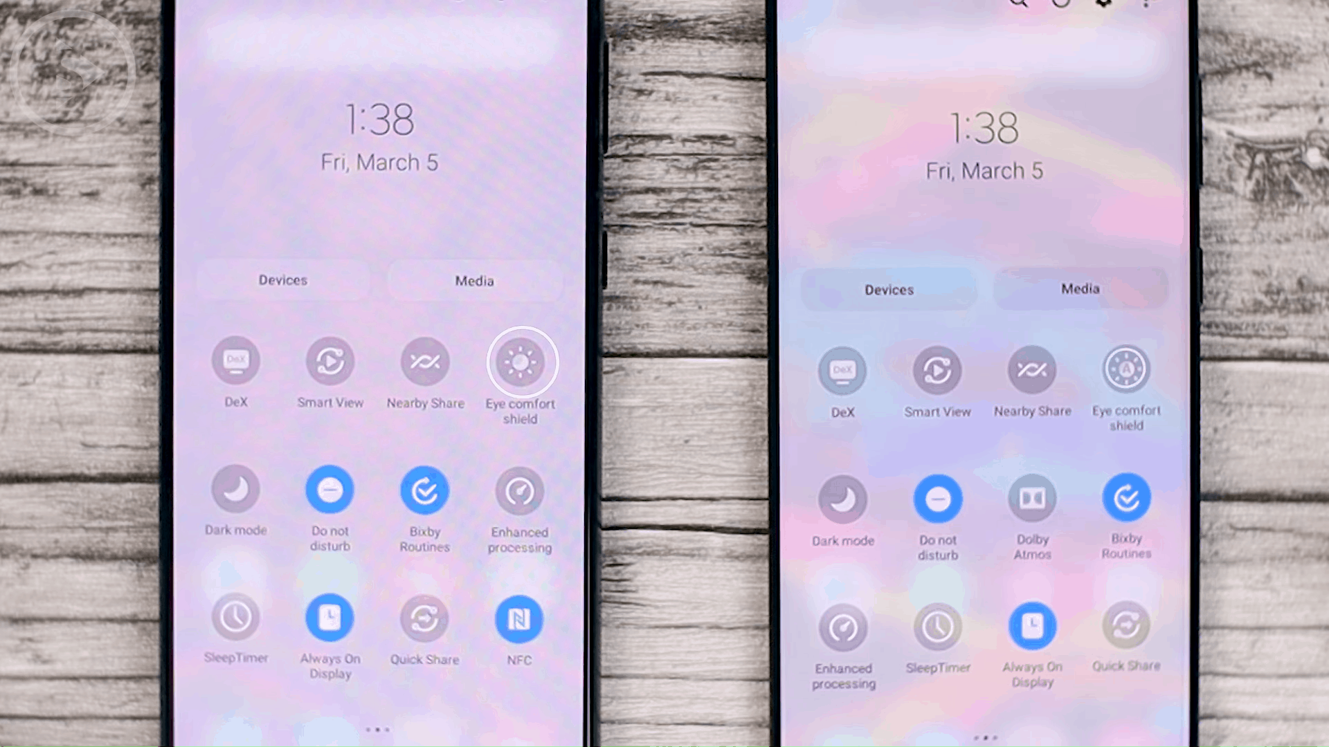 New Name for Blue Light Filter - One UI 3.1 Features on Samsung S20, S20+, S20 Ultra