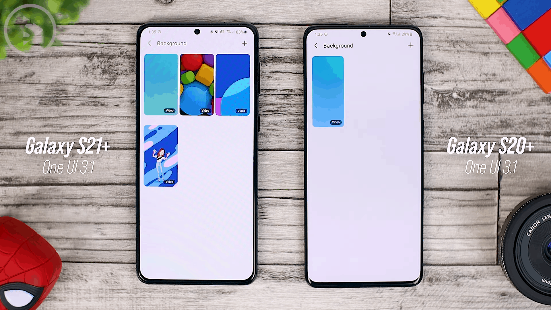 No New Call Background - One UI 3.1 Features on Samsung S20, S20+, S20 Ultra