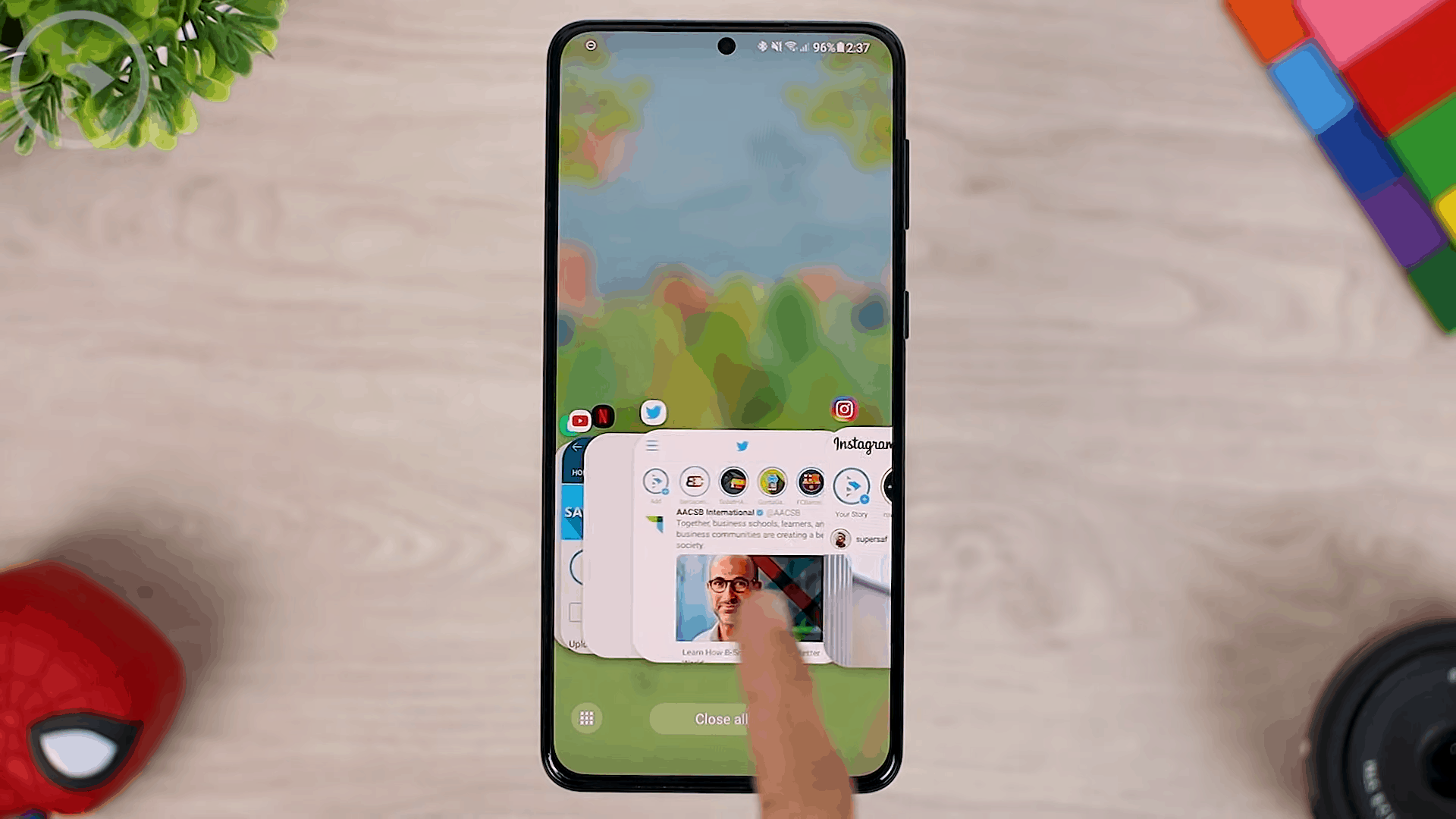 Mini Mode Option on Task Changer - 8 COOL Features in the LATEST Good Lock Update April 2021