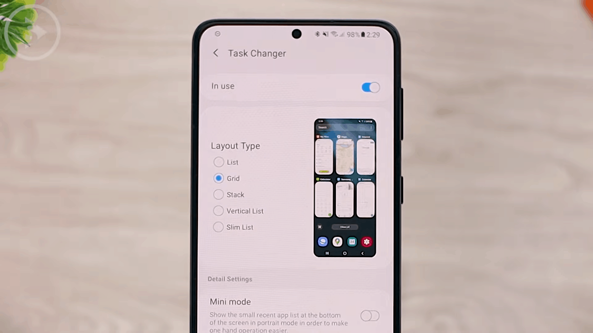 New Task Changer Animation and Layout Types - 8 COOL Features in the LATEST Good Lock Update April 2021