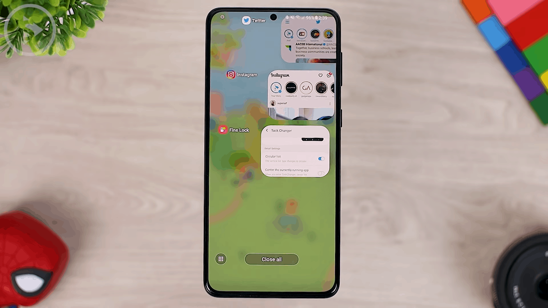 Show Search Bar on Task Changer - 8 COOL Features in the LATEST Good Lock Update April 2021