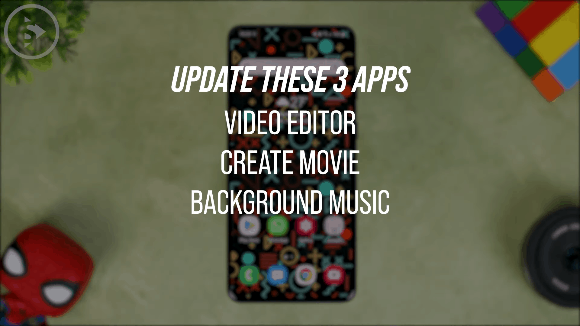 Update the Video Editor Application, Create Movie, and Background Music - 4 Latest Features To Edit Photos and Videos in Various Versions of One UI Without Third Party Apps