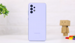 Review of Samsung Galaxy A32 Violet