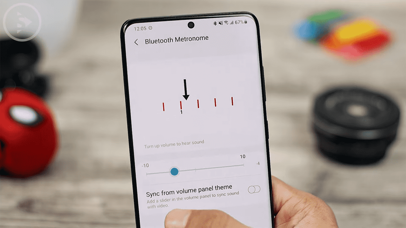 Bluetooth metronome - Check All New Features of Sound Assistant App For Samsung Smartphones with Android 11