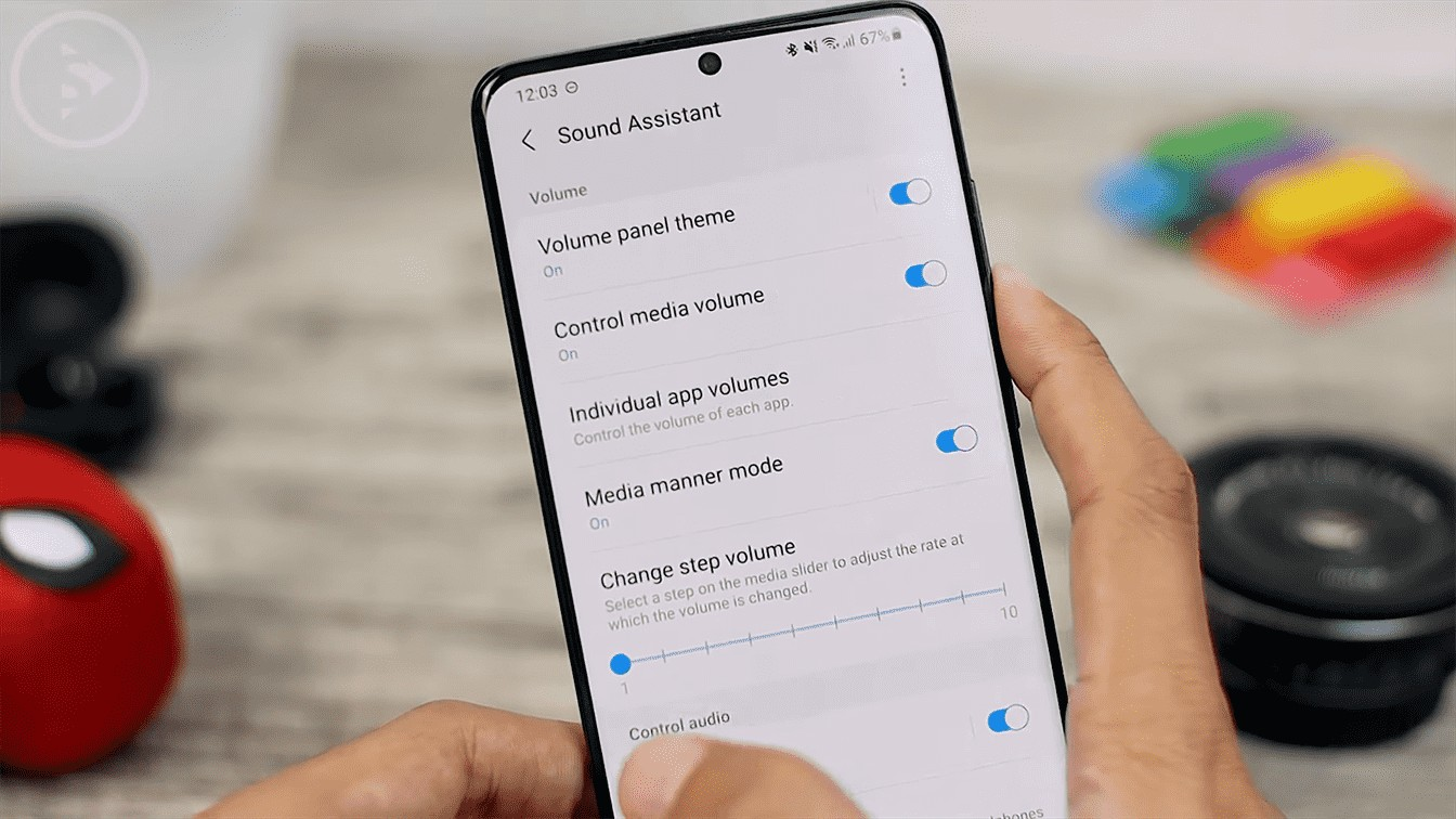 change step volume - Check All New Features of Sound Assistant App For Samsung Smartphones with Android 11